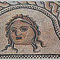 Mosaïque de Penthée