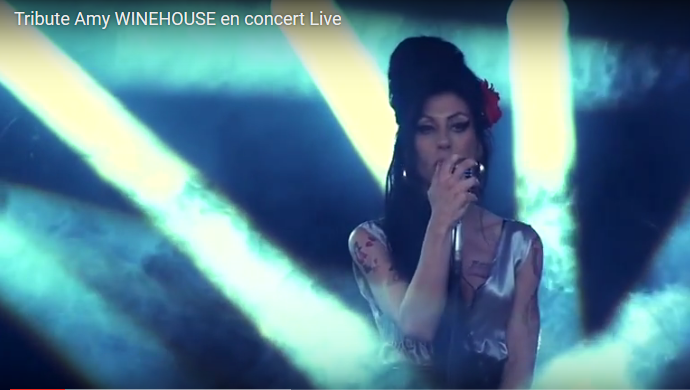 Tribute Amy WINEHOUSE en concert Live 05