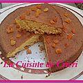 Gâteau à l'orange & abricots secs