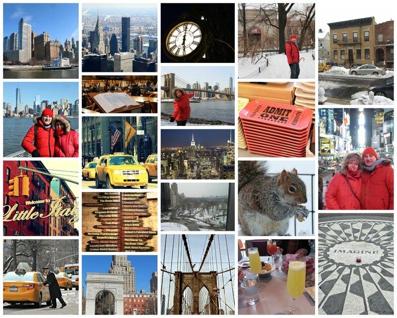 NY collage