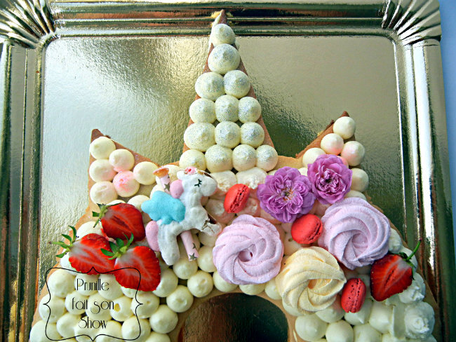 Gateau Licorne Facon Number Letter Cake Prunille Fait Son Show