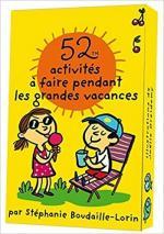 52 activités à faire pendant les vacances couv