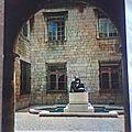 Perpignan - la loge de la mer - statue Maillol