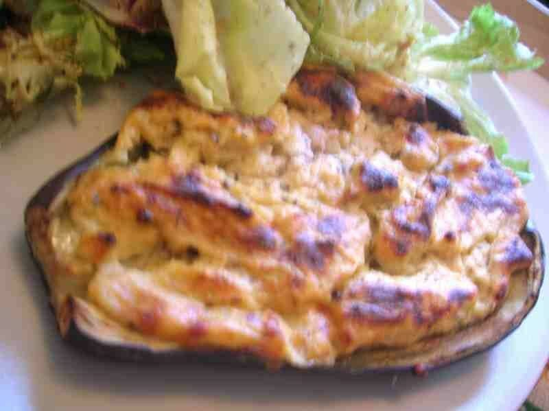 aubergine fromage blanc