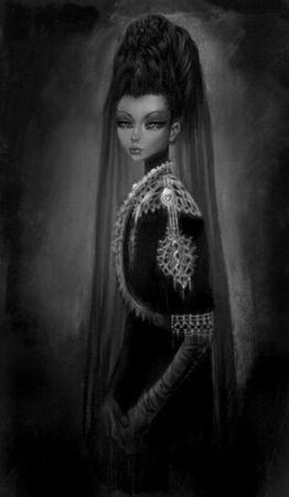 Image Gothique Taint Tin Princess Princesse Femme Elégance