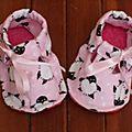 Petite paire de chaussons