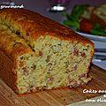 Cake aux lardons et aux olives vertes