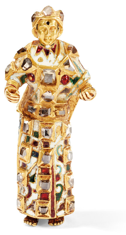 2019_CKS_17178_0099_000(an_enamelled_and_gem_set_gold_figure_of_a_female_saint_goa_or_north_in)
