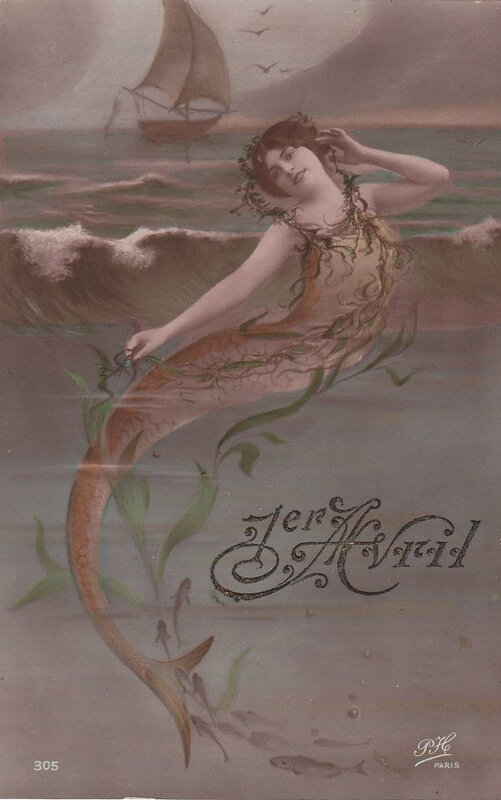 sirene-belle-epoque-1er avril