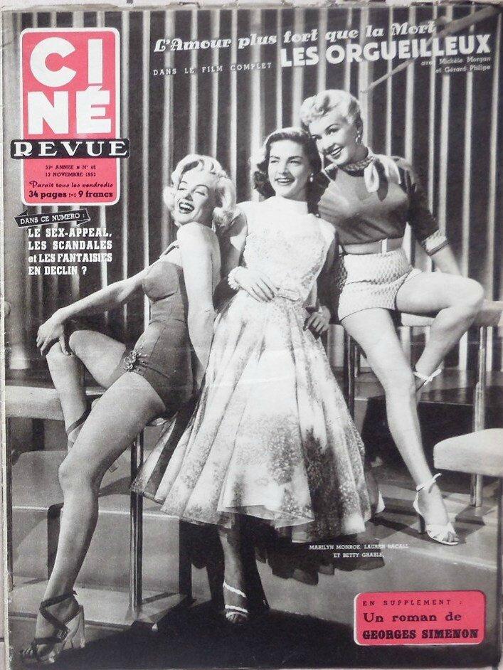 Ciné Revue (Bel) 1953