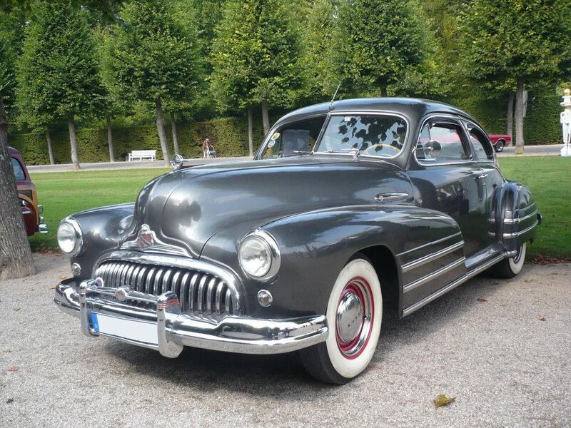BUICK Special 2door Sedanette 1947 Schwetzingen (1)