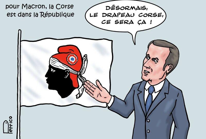 Macron en Corse 8 février 2018