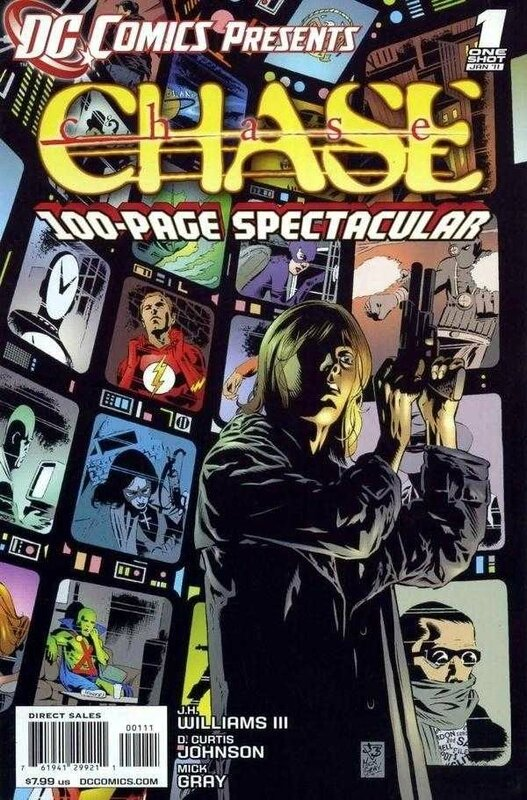 DC comics presents chase