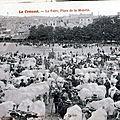 1918-11-19 - Le Creusot foire