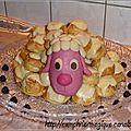 gâteau mouton choux