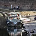 La Baladine amarrée au quai de la Daurade