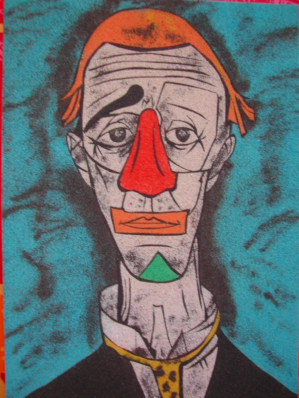 Le Clown Triste D Apres Bernard Buffet Photo De Tableaux En
