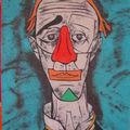 Le Clown triste (d'après Bernard Buffet)