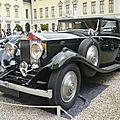 Rolls royce 20/25 sedanca coupé gurney nutting 1933