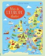 Atlas de l'Europe illustré couv