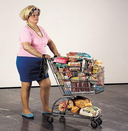 Hanson_Duane__1969___Supermarket_Lady