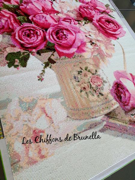 Diamond Bouquet de Pivoines 15