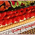 C'est la saison des fraises, profitons-en !!! petite récap. de nos recettes