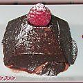 Pyramides chocolat framboises de cyrille zen
