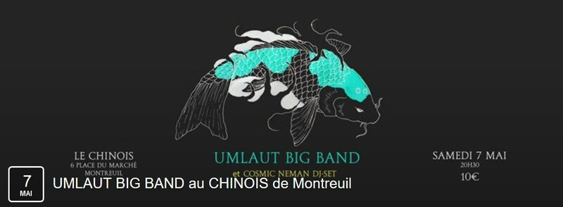 Umlaut Big Band 7 mai 16