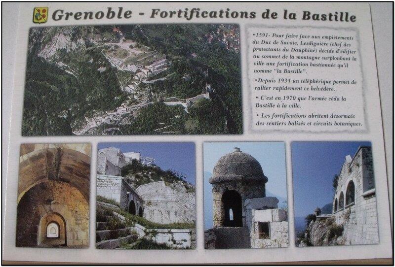 Grenoble - fortifications de la Bastille