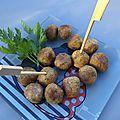 Petites boulettes de poulet épicées