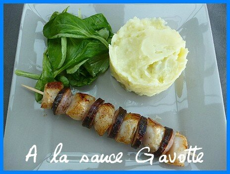 brochette coquilles andouille 1