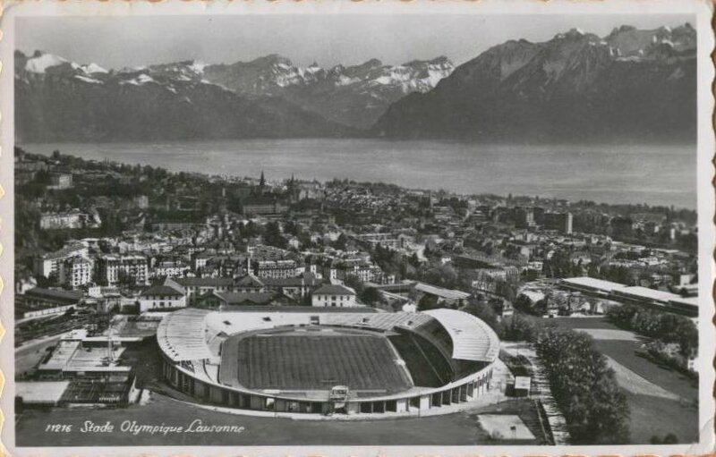 1954 CPSM Stade Lausanne