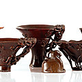 Selected libation cups and works of art from the h.g. beasley collection at alastair gibson auctions, 18 november 2021