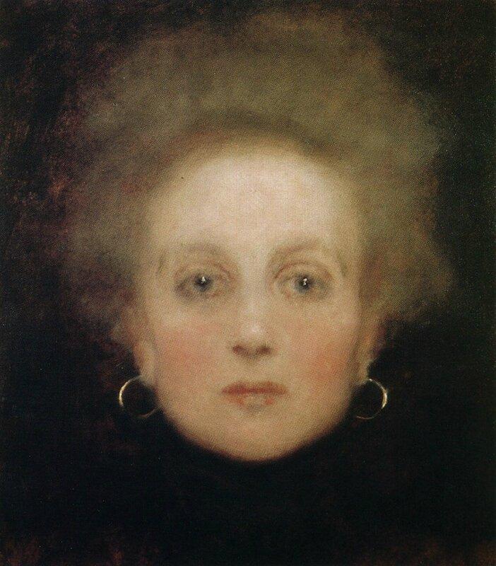 Klimt Portrait de femme 1898