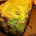 Terrine de blettes (ou côtes de bette) au saint-nectaire