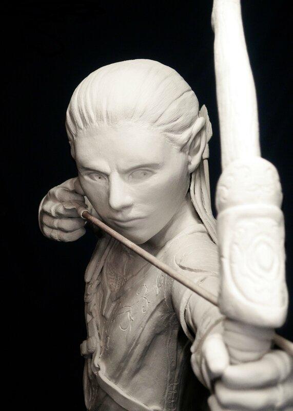 Elfe Archer de Floraine Allart