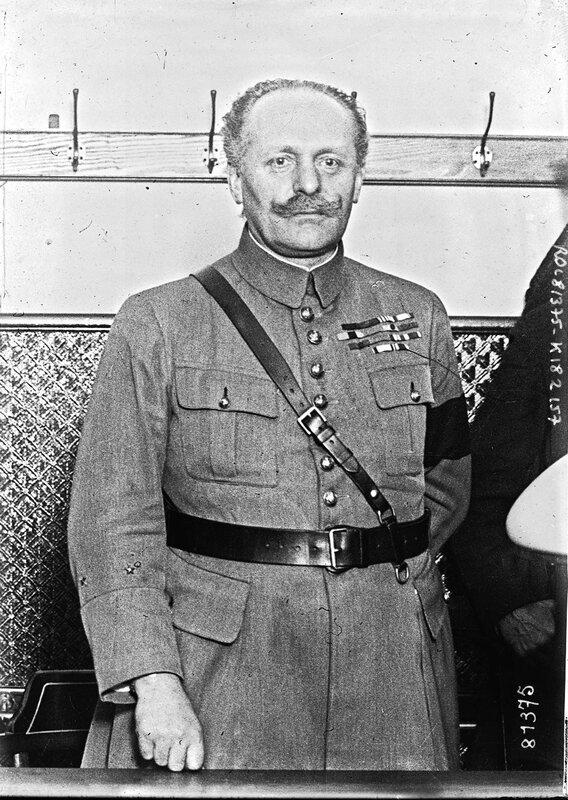 1919 01 12 Général_Payot photographie de presse Agence Rol