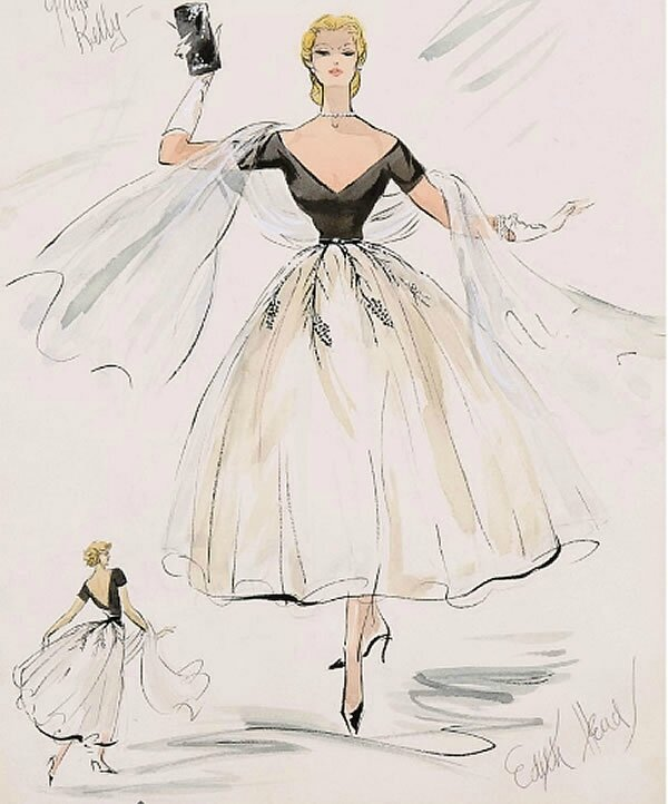 Edith Head pour Grace-kelly