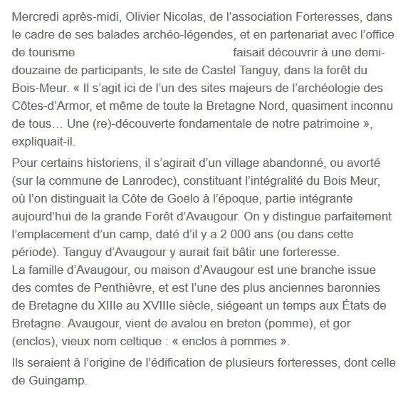 BOIS MEUR - Le Télégramme 03