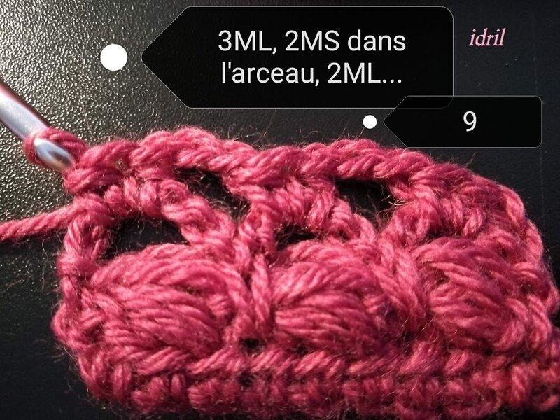 tuto point idril crochet 10