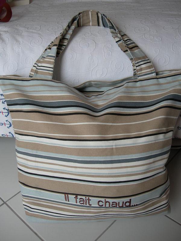 Très grand sac de plage