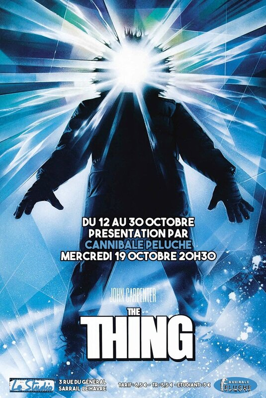 affiche the thing Studio