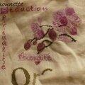 Sal orchidée de lilipoint