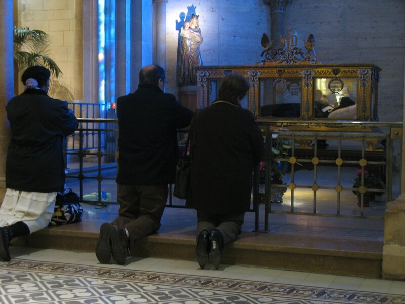 Nevers, couvent Saint-Gildard, sainte Bernadette (58)
