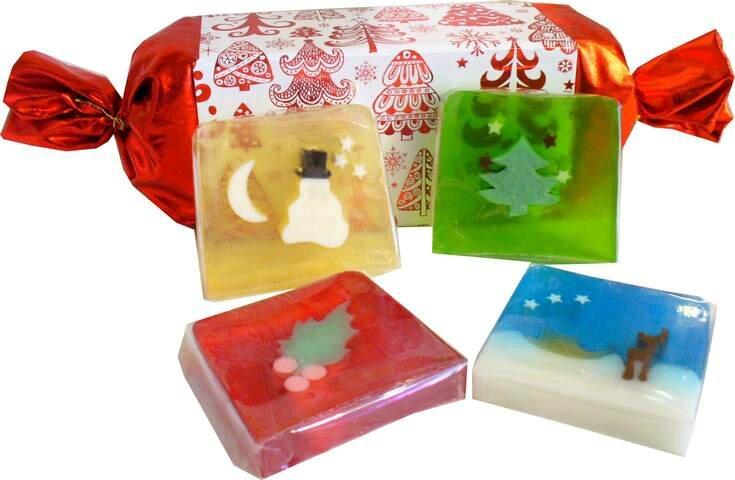 Crackers de Savons de Noël