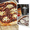 Pizza gourmandissima !