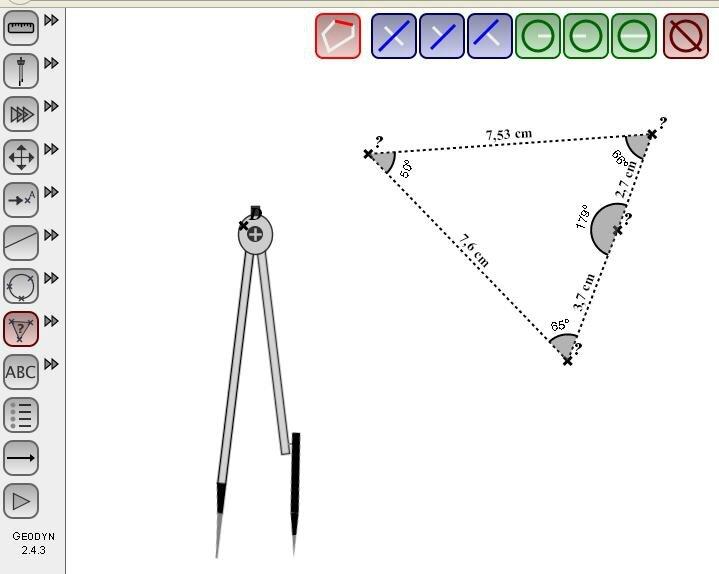 Accéder à Géodyn (logiciel de géométrie en ligne)