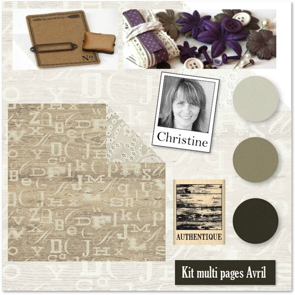 Kit Atelier Multi-Pages d' Avril 2015