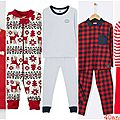 Pyjamas de noël mixtes du bébé à l'ado, mission impossible #2 ?